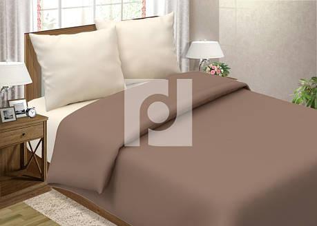 Постельное белье Мокко + Шампань поплин ТМ Царский дом  (Двуспальный), фото 2