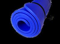Каучуковый коврик для фитнеса и йоги «Holland FITNESS MAT NBR» 1750x700x15мм