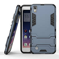 Чехол LG X Power / K220 / K210 Hybrid Armored Case темно-синий