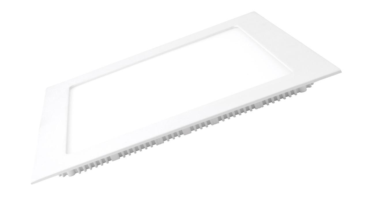 LED Светильник EUROLAMP квадратный Downlight 12W 3000K