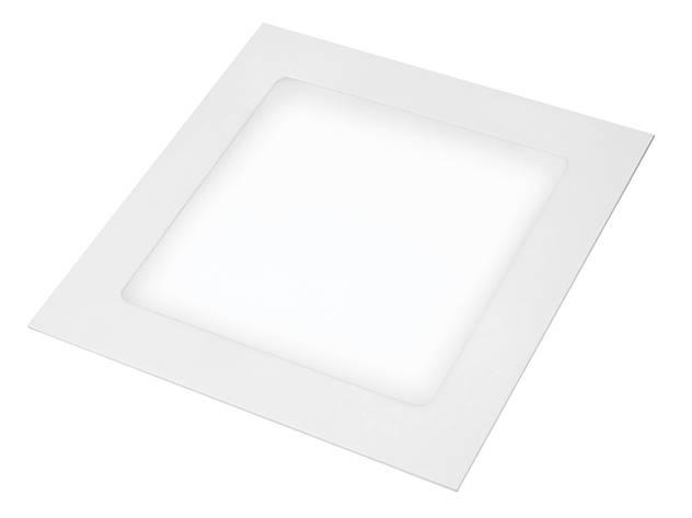 LED Светильник EUROLAMP квадратный Downlight 24W 4000K, фото 2