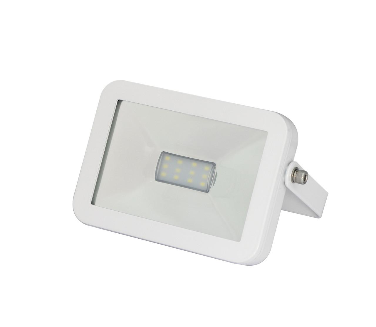 LED Прожектор EUROELECTRIC COB белый 10W 6500K premium