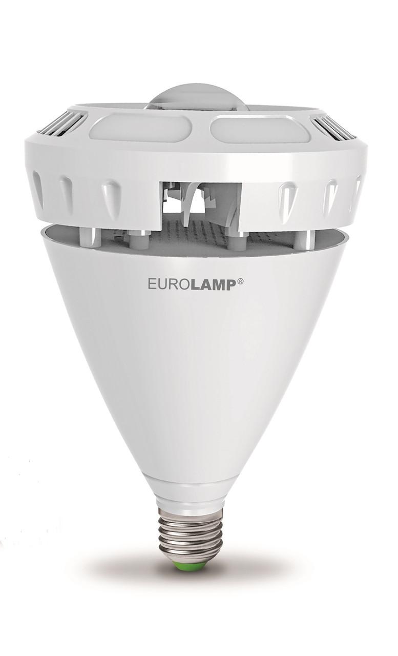 "LED Лампа EUROLAMP высокомощная ""око"" 60W E40 6500K"