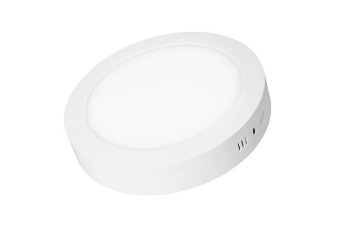 LED Светильник EUROLAMP круглый накладной Downlight 12W 4000K, фото 2