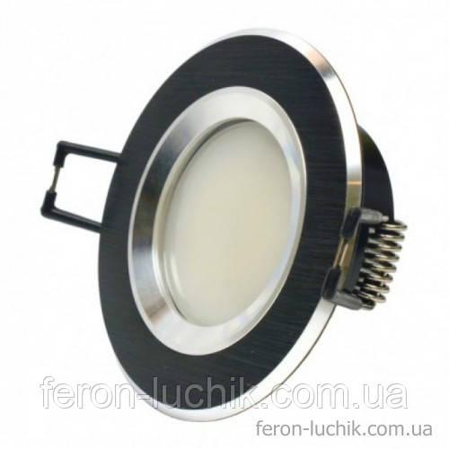 Світильник точковий (алюміній) AS21 BLAL чорний