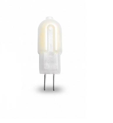 LED Лампа EUROLAMP Plastic 2W G4 3000K 220V, фото 2