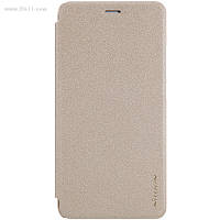Чехол Nillkin Sparkle Leather Case для Huawei GT3 (Honor 5C / Nemo 5.2) Shampaign Gold