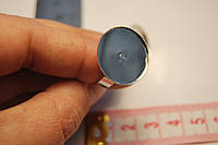 Заготовка кольцо безразмерное тарелочка  круг