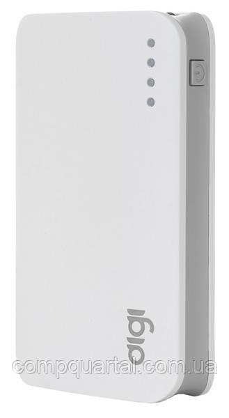 Портативний зарядний пристрій DiGi LI-33 7500 mAh Li-ion White