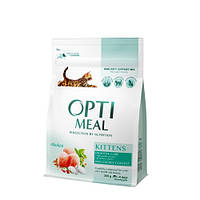 Сухой корм для котят OPTIMEAL - курица, 0,3 кг