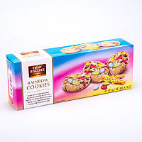 Песочное печенье Rainbow Cookies Feiny Biscuits с драже М&M, 135 гр.