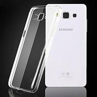 Силиконовый чехол Slim на Samsung Galaxy А700, прозрачный