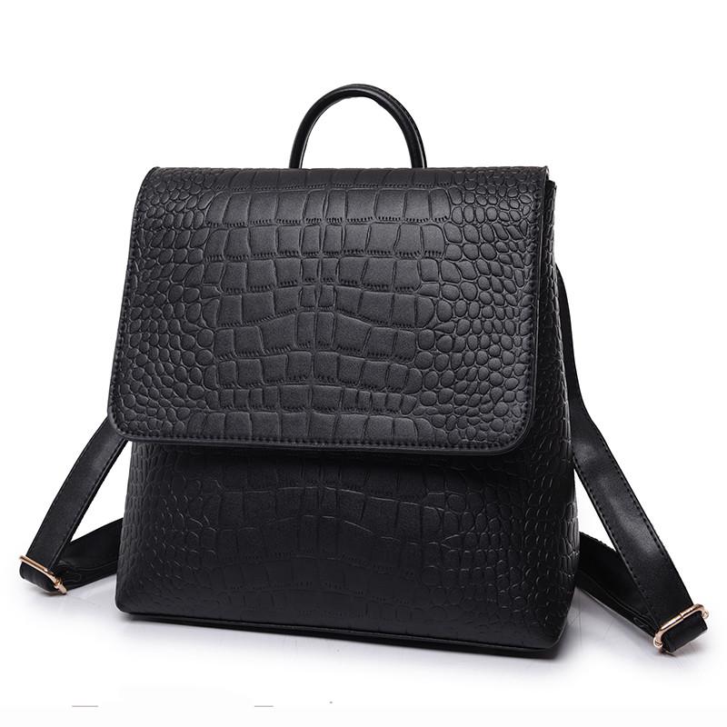 Рюкзак сумка женский с клапаном под кожу крокодила  продажа, цена в ... a96bb804a71