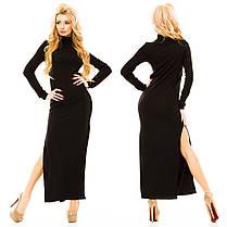 Ж161 Платье теплое длинное, фото 3