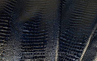 Кожа КРС Крокодил Тирнак синий, фото 1