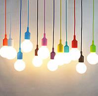 Светильник подвесной дизайнерский цвет-микс, фото 1
