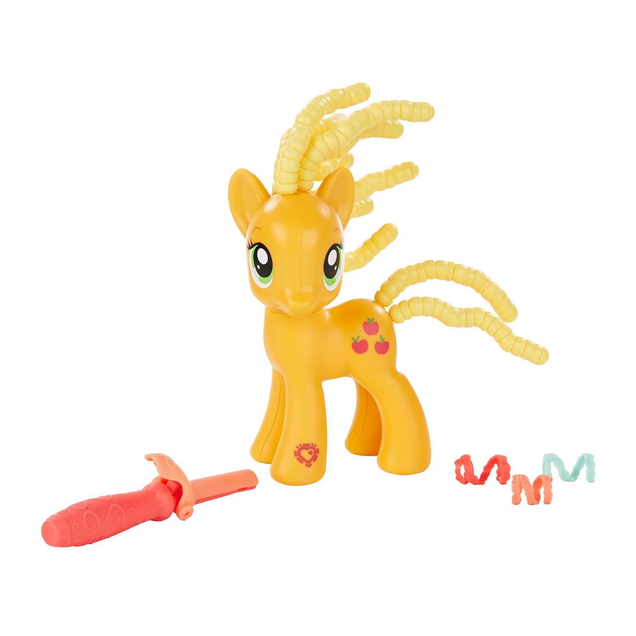 My Little Pony Эпплджек с прической из бусин Hasbro B5418B3603