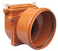 HL720.0 Затвор DN200 с заслонкой из нержавеющей стали и муфтой для труб из синтетического материала
