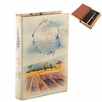 "Книга-сейф ""Лаванда"" 26х17х5 см шкатулки в стиле прованс"
