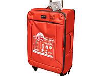 Ультра легкий большой тканевый чемодан на 4-х кол. Airtex 6287, доставка из e3daafc418e