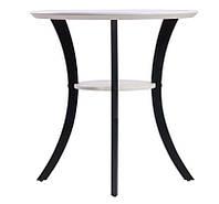 Стол Модерн  белый, ножки черные