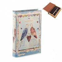 "Книга-сейф ""Сказочные птицы"" 26х17х5 см на ключе"