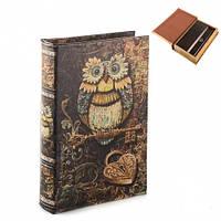 """Книга-сейф """"Сова"""" 26х17х5 см универсальный подарок"""