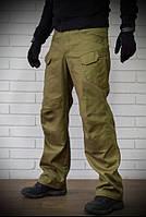 Мужские тактические брюки (глина, кайот) их плотного хлопка