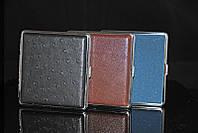 Портсигар без зажигалки на 20 сигарет, 3 цвета на выбор