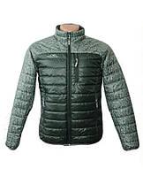 Куртка мужская демисезонная короткая зеленая, 52