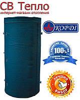 Аккумулирующий бак (теплоаккумулятор) Корди АЕ-10-2ТI - 1000 л (с двумя теплообменниками)