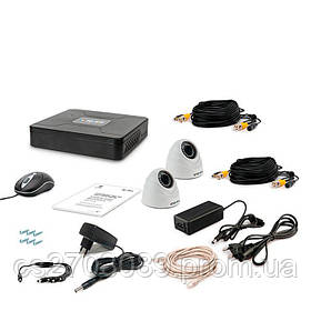 Комплект видеонаблюдения Tecsar 2IN DOME