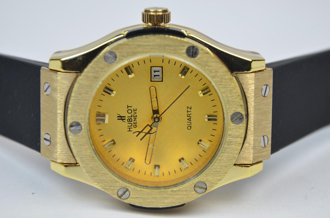 Женские наручные часы HUBLOT Big Bang Gold календарь