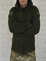 Тактическа флисовая  куртка ХАКИ