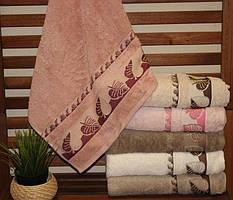 Хлопковые полотенца Pupilla 70x140 (6-шт) №Sonbahar