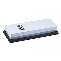Точильный камень Taidea 6260W, корунд, зернистость 600/2000 грит, размер 190х72х33 мм, подставка