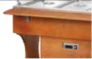 Шведский стол охлаждаемый CLR 2782 W, фото 2