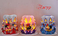 Электронные свечи ручной работы