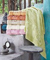 Бамбуковые полотенца Pupilla 70x140 (6-шт) №Elit-1