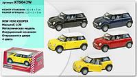 """Машина металл """"KINSMART"""" KT5042W Mini Cooper"""
