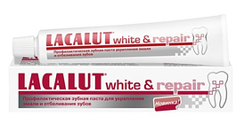 Зубная паста Lacalut white&repair (Лакалут вайт восстанавливающая)