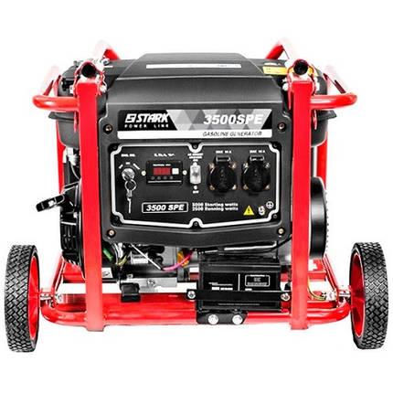 Бензиновый генератор Stark 3500 SPE                , фото 2