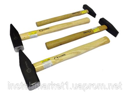 Молоток Сталь слесарный с деревянной ручкой 1000 гр. (артикул 44003), фото 2