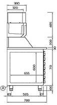 Стол для пиццы Cold Line EN 2D+7, фото 3