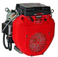 Двигатель бензиновый WEIMA WM2V78F (2 цил., 20 л.с., вал шпонка или конус) Бесплатная доставка
