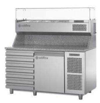 Холодильный стол для пиццы Coldline EN 1D+7