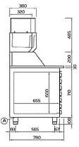 Холодильный стол для пиццы Coldline EN 1D+7, фото 3