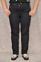 Классические трикотажные спортивные брюки полу батал