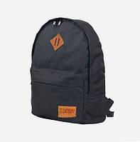Городской рюкзак черный Casual Urban Planet 25л. (школьный, для спорта, женский рюкзак, мужской рюкзак)