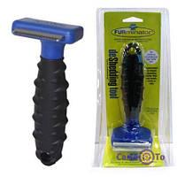 Щетка для груминга собак, кошек Furminator deShedding tool (Фурминатор) S S